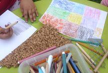 2014 - Laboratori d'arte per bambini e ragazzi / I laboratori svolti nei parchi pubblici del territorio hanno permesso ai bambini e ai ragazzi di Carugate di scoprire la loro città attraverso l'arte.