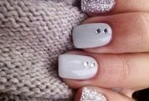 **Grey mood NAIL ART DESIGNS** / GREY