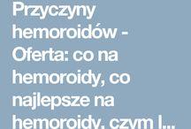 Przyczyny hemoroidów