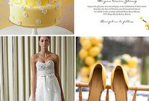 Yellow Weddings / Bright and vibrant, pale and soft, yellow is a beautiful color to accent your wedding