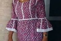 Robe pagne africaine