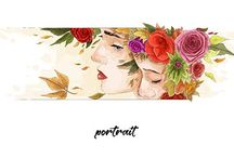 portraits - personel works