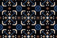 Vector Pixel Pattern