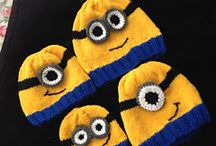 knitted minion / Minions