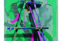 Mixed Media Art / Çeşitli malzemelerin bir araya gelerek oluşturdukları sanat eseri The art pieces created with different materials as ready made objects, different type of paints, art pens, ink, wood, plexiglass and some others.