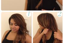 Hairstyles to attempt! / by Becca Scharl