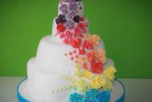 Gâteau apétissent / Gâteau arc en ciel