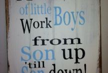 Mother to Son / For my Logan and Paxton! I love my boys! / by Melissa Parker