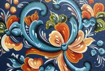 Rosemaling / by Suzy Lee