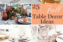 Tablescapes / by Angela Perez