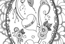 Exclusive coloring pages / Our exclusive and fantastic coloring pages by our partners artists