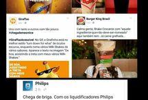 Social Medias / Coisas incríveis, criativas, interessantes e engraçadas que os social medias aprontam pela web