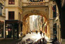 Města, místa, ulice