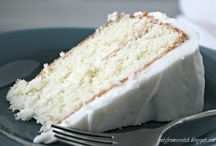 Simple Layer Cake with Vanilla Frosting, from Martha Stewart