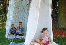 Çocuklara çadır