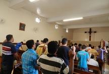 Cenáculo para Homens / Dias 14 e 15 de Julho Local: Capela de São Pio X