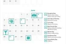 Social Media - Content Calendar