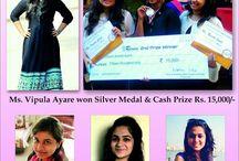Congratulations Vipula Ayare , Vrishti Shah , Harsona Choksi & Rujuta Joshi