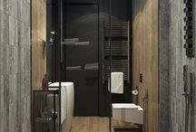 Internal design bathroom