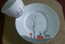 NiYu / selling salad plate, dinner plate, snack plate, mug, etc