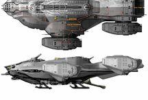 Sci-Fi | Space Ships