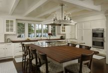 kitchens. / The workhorse of a house - the kitchen needs to be highly functional and stylish at the same time.