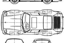 Blueprints, technical drawings