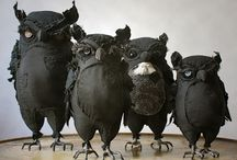 ptáci textil
