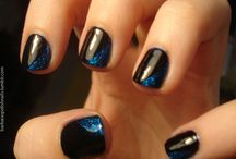 black nails & nail art designs gallery by nded store / black nails & nail art designs gallery by nded store