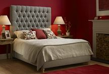 Festive Bedroom Ideas / The festive season is almost upon us so look no further than here for some gloriously festive bedroom ideas! We have a huge range of fabrics and can even upholster in a customer's own fabric