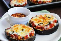 Food / Aubergine pizza