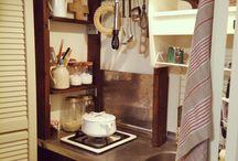 狭小キッチン