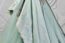 wedding dresses coloured and patterned