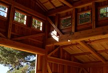 A Gallery of Our Work / Some examples of work done by Santa Cruz Timberframes.