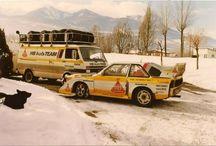 Rally cars oldschool