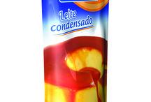 Novidade: Leite condensado! / Para adoçar os paladares mais exigentes! Embalagem inovadora na mesma medida da lata, com sabor e consistência ideais para as mais diversas iguarias doces da culinária.