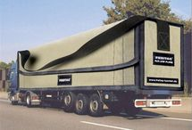 Trucks, car, transportation
