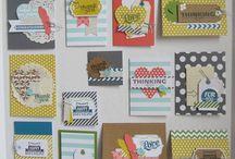 Stampin Up Kits / Co-ordinating Kits that make card making a breeze! / by Sarah Wills