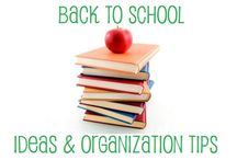 Back To School Printables, Ideas & Organization / Back to school ideas, printables, and organization tips. Summer is winding down and it's time to think about getting the kids prepared and ready to go back to school. Check out all of these great resources. / by OnlineLabels.com