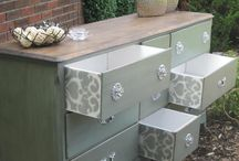 Furniture painting/stencilling