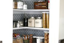 Organization ideas / Ideas to organize your cupboards, craft items, closets