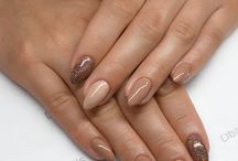 nails / Semilac 121 Ruby Charm, 123 Szeherezada