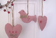 Gingham decorations