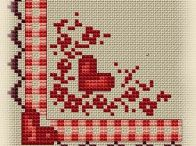 CORNER *CROSS STITCH