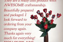 JustFollowingUp / Read what our customers are saying about our #wedding #anniversary gifts!