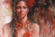 Les peintures sublimes de Alexandrina karadjova