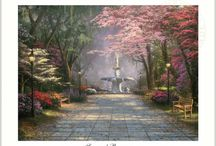 Thomas Kinkade Posters and Prints / Posters and Prints featuring the art of Thomas Kinkade