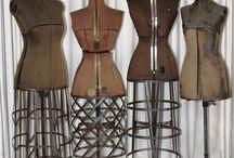 Vintage tailors dummies