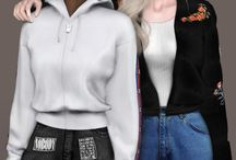 Ts4- famale clothes