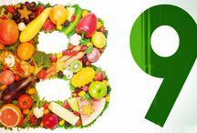2. Vitamíny B12, CA...  Ovoce, Zelenina
